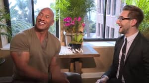 Dwayne Johnson Had The Best Response To Interviewer's 'It Doesn't Matter' Prank