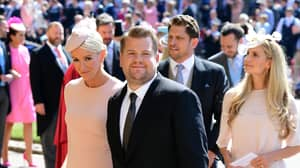 James Corden Almost Ruined Key Moment Of Royal Wedding With Sneezing Fit