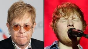 Sir Elton John Says He's Sick Of Hearing Ed Sheeran's Songs