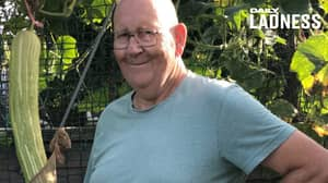 Granddad With Passion For Growing Big Veg Amasses 88,000 Twitter Followers