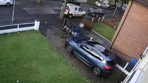 Delivery Driver Urinated On Driveway After Delivering Woman's Takeaway