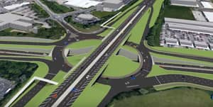 Check Out This Triple-Decker Roundabout Coming To A Town Near You!