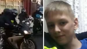 Dad Defeats Bullies By Picking Up Autistic Son With Biker Mates