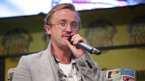 Tom Felton Used Official Hogwarts Sorting Hat And It Told Him He Was In Hufflepuff