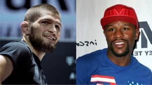 Khabib Challenges Floyd Mayweather To Fight After McGregor Victory