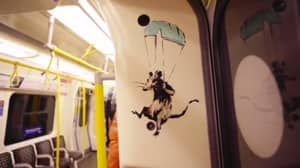 ​Transport For London Destroy Banksy's New Artwork Estimated To Be Worth £7.5m