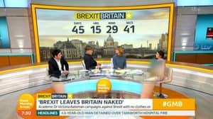 Woman Appears Naked On Good Morning Britain To Debate Brexit