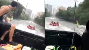 Hurricane Irma: LADs 'Make The Most' Of Storm In Miami