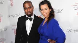 No, Kim Kardashian Is Not Grabbing Kanye West's Dick In This Picture