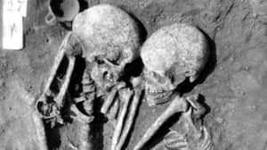 3,000-Year-Old Skeletons Found Hugging One Another In Grave