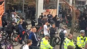Thousands Ride Through London To Protest Against Knife Crime