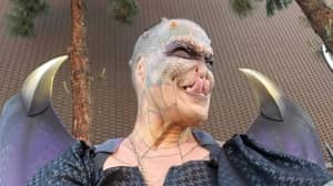 Person Who Spent £61,000 On Becoming 'Human Dragon' Reveals What They Used To Look Like