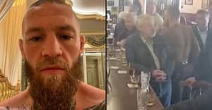 Conor McGregor Buys Pub Where He Punched Man And Immediately Bars Him
