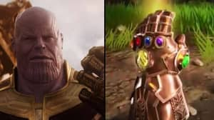 First Look At Thanos In Fortnite Is Revealed
