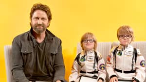 Gerard Butler's Interview With Two Eight-Year-Olds Is His Toughest Challenge Yet