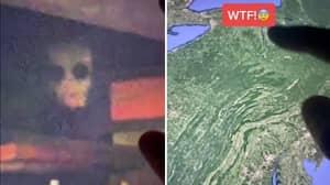 Google Maps: People Disturbed By Creepy Demonic Figure Under Bridge