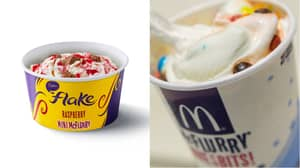 McDonald's Launches New Mini McFlurries And New Flavours – While Quietly Shrinking Regular Size
