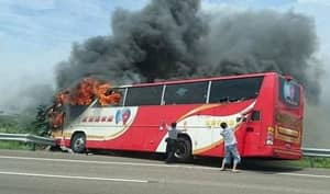 At Least '26 Tourists Dead' After Coach Crashes And Bursts Into Flames In Taiwan