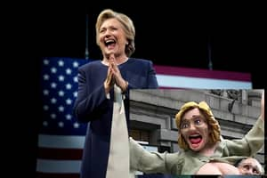 Naked Statue Of Hillary Clinton Appears In New York, Sparks Fight