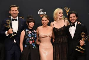 Game Of Thrones Absolutely Smashes Emmy Awards Record