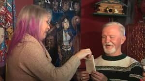 Dude With Wrapped Gift From 1971 Finally Opens His Present