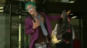 Man Arrested For Vandalism Dressed As Joker Is A Convicted Killer