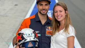 MotoGP Rider Miguel Oliveira Gets Married To His Step-Sister And Now They're Having A Baby