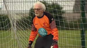 88-Year-Old LAD Still Plays For His Local Team As A Goalkeeper