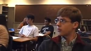 Resurfaced Footage Shows American High School Class React To 9/11