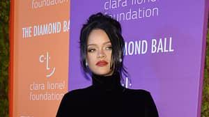 Rihanna Covers Up Matching Tattoo She Had With Drake