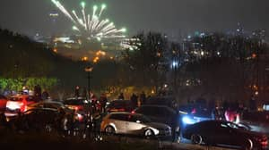 Terrified Crowds Run As Fireworks Fall On 'Hundreds' Of People At Illegal Display