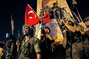Loud Explosion Heard In Turkish Capital Amid Reports Of Violence In Coup