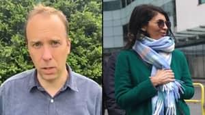 Matt Hancock CCTV Leak Under Investigation And UK Spies Urged 'To Look Very Carefully'