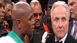 Journalist Larry Merchant Once Told Floyd Mayweather He'd Kick His Ass If He Was 50 Years Younger