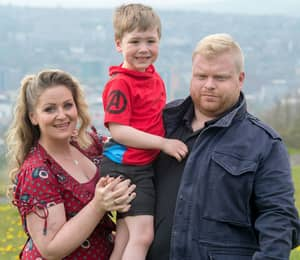 Lad Jumps In Front Of Gunman To Protect His Girlfriend And Her Son