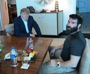 Dan Bilzerian Takes Picture Acting Out Donald Trump's 'Grab 'Em By The Pussy'