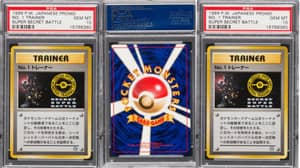 'Holy Grail' Of Pokémon Cards Expected To Go For £88,000 At Auction