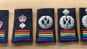 UK Police Forces Support LGBT Community By Wearing Rainbow Shoulder Badges