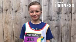 Boy Who Suffered Severe Facial Injuries In Crash Running Double Marathon For Charity