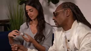 Snoop Dogg Appears On Chat Show - Gives Everyone Weed
