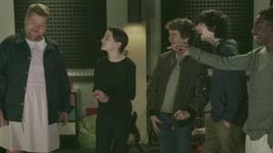 'Stranger Things' Cast Join James Corden For Motown Medley