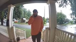 Man Instantly Regrets Calling Father-In-Law A 'D***head' In Front Of Doorbell