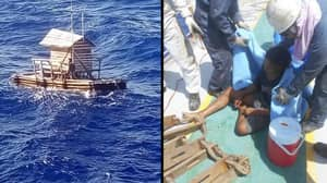 Teenager Amazingly Survives 49 Days At Sea In A Fishing Hut