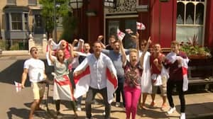 Danny Dyer And Eastenders Cast Say It's Coming Home