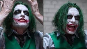 Tommy Wiseau Plays The Joker In Spoof Version Of 'The Dark Knight'