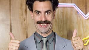 Six Years Ago A Real Sporting Event Played Borat's Fake Kazakhstan Anthem