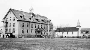 Hundreds Of Unmarked Graves Found At Site Of Former School In Canada