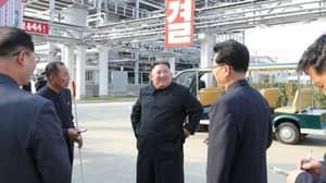 First New Photos Of Kim Jong-Un In Public Released Following Death Rumours