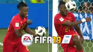 Fans Really, Really Want Michy Batshuayi's Hilarious Celebration On 'FIFA 19'