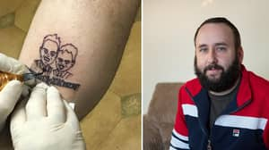 Man Gets Tattoo Of Ant And Dec Hours Before TV Presenter's Car Crash